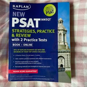 used PSAT book from kaplan